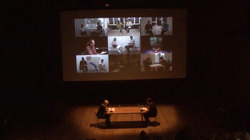 "Katarina Rankovic, ""A Ritual Resuscitation of Eternal Lovers"" (2016). Communal performance at Nottingham Contemporary, 15 min."